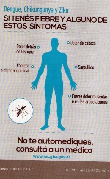 Nuevo caso de dengue en Lezama