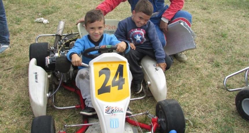 Se corrió la primera del Karting Regional