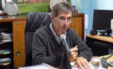 Harispe anunció el inicio de una serie de obras de infraestructura
