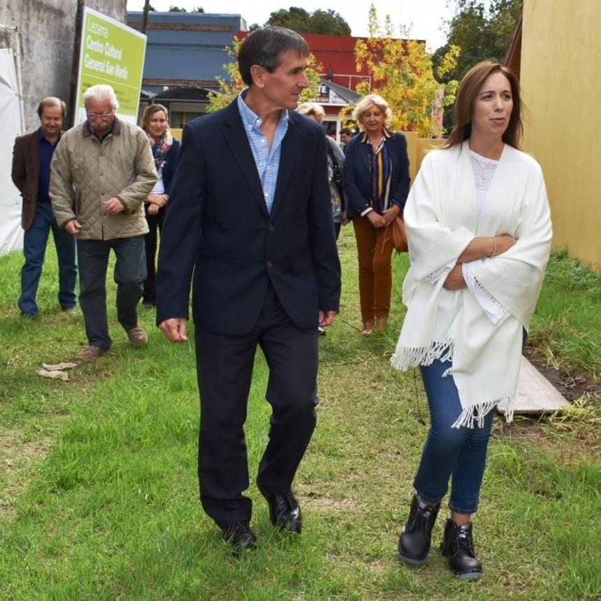 María Eugenia Vidal en Lezama