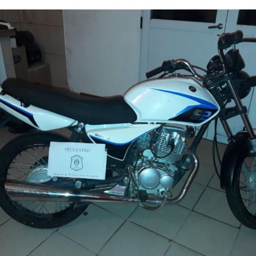 Aparecieron las motos robadas