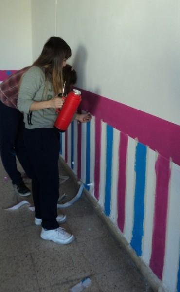 Jornada de pintura  en comunidad