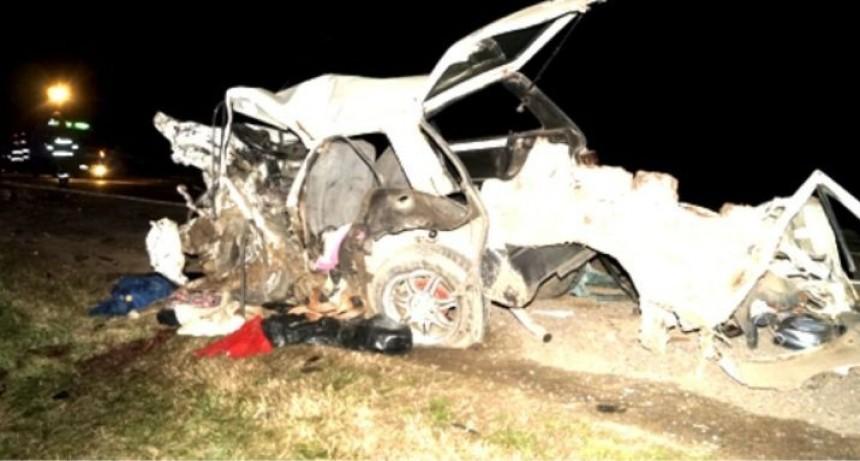 Trágico accidente en la Ruta 30 fallecieron una vecina de Chascomús y su hija