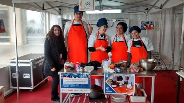 Cintia carreras chef y coordinadora de cocina - Carrera de cocina ...