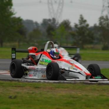 Emi Zinetti hizo podio en el Mouras de La Plata