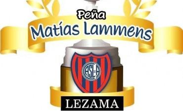 San Lorenzo tendrá su peña en Lezama