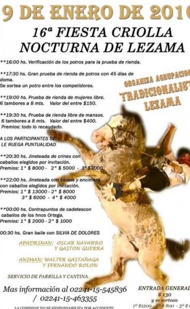16º Fiesta Criolla de Lezama