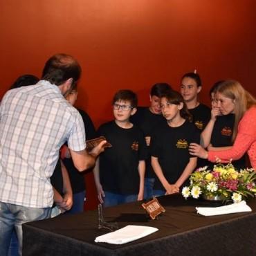 Merecido homenaje a César Tello y Celia Camarotti