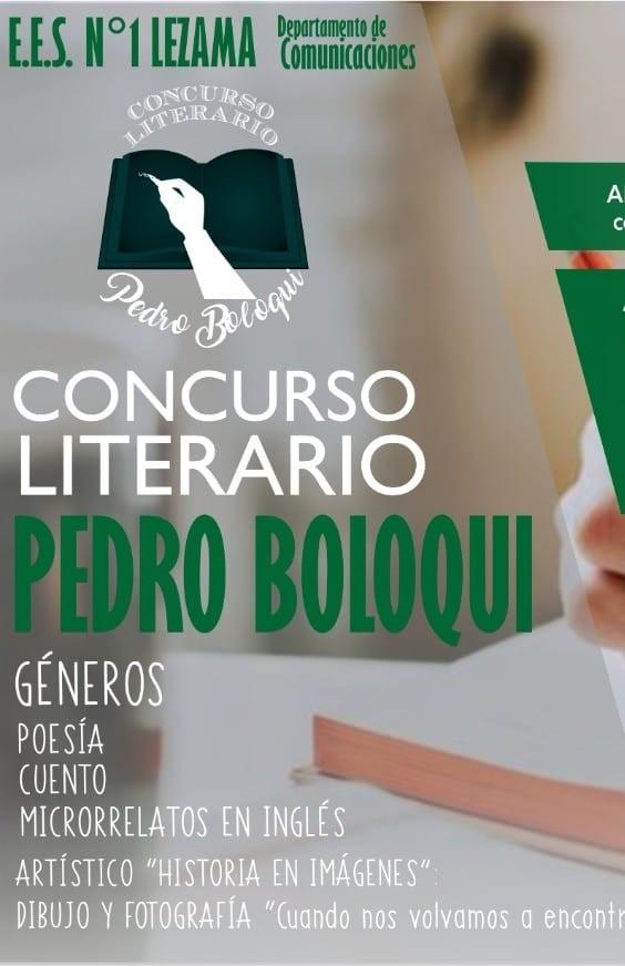 "XX Concurso Literario ""Pedro Boloqui"""