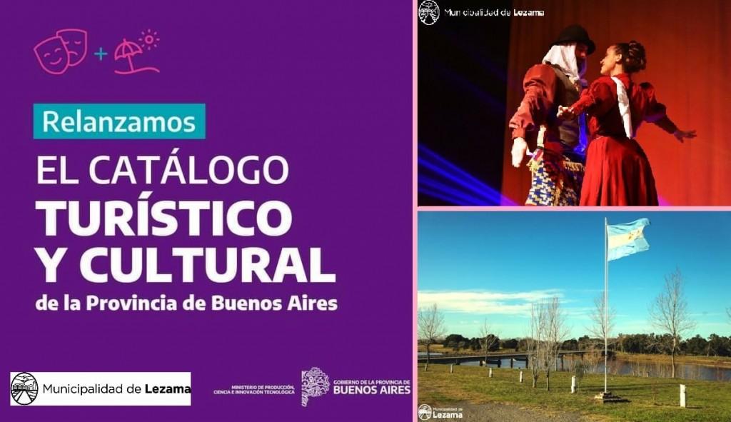Entrega de fondos del Catálogo Turístico Cultural