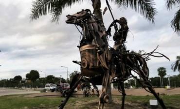 Construirán una Escultura en el Barrio El Tero