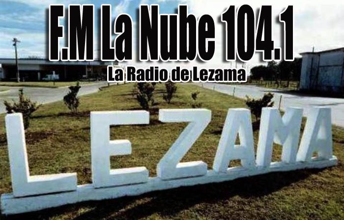 La Nube FM - 104.1 - Lezama