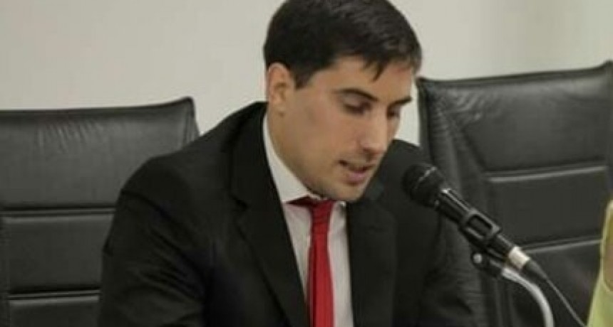 Diego Mongay es intendente interino hasta el 28 de febrero