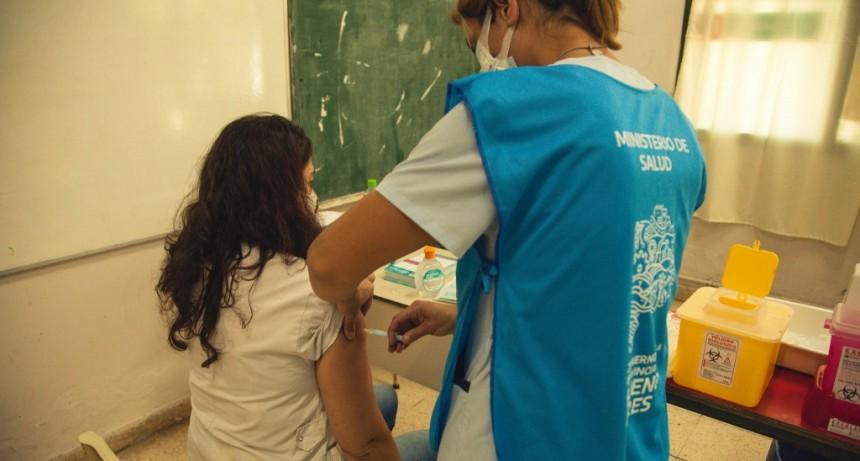 Vacunación en Lezama