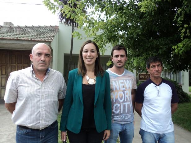 María Eugenia Vidal visitó Lezama