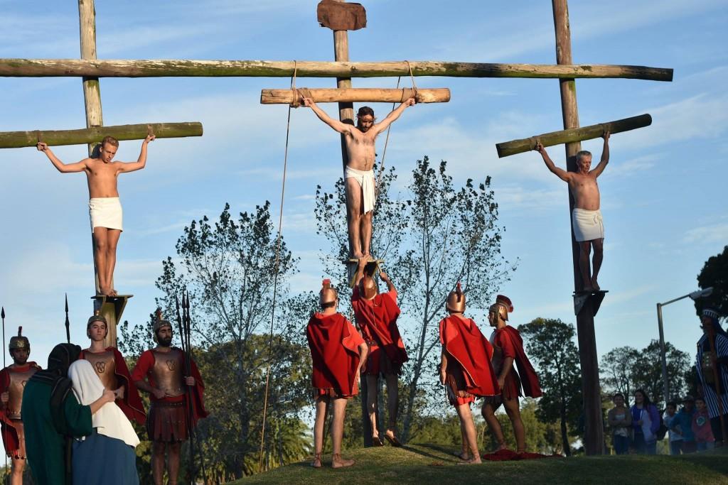Jesús, el camino se representará desde este jueves en Castelli