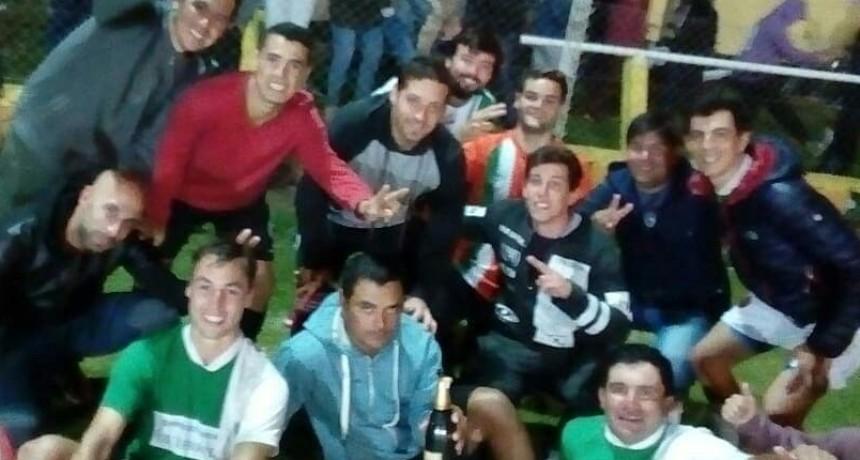 La Cuadra Eventos Bi Campeon del Papi Fútbol