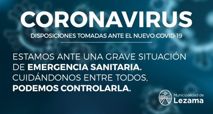 Harispe decretó la emergencia en salud en el marco de la campaña contra el coronavirus