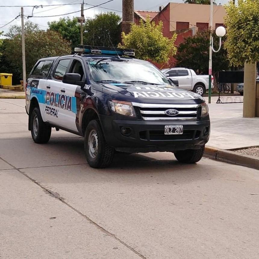 Cuarentena: En Lezama patrullan las calles