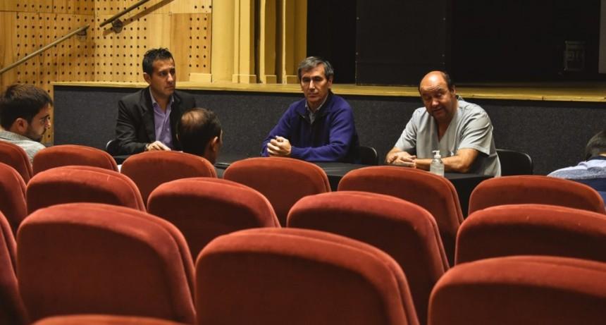 Harispe y el equipo de salud se reunieron con el cuerpo de concejales para informar la situación local frente al coronavirus