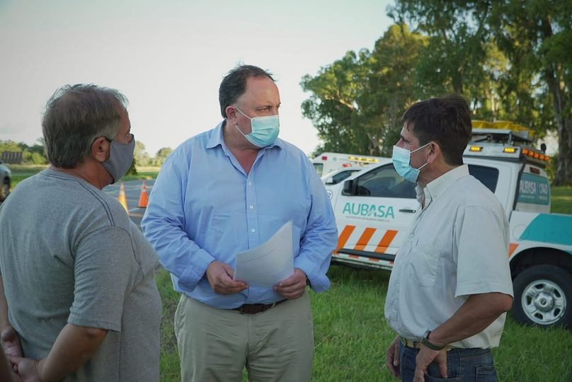 El concejal Bonadeo se reunió con el director de AUBASA