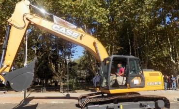 La Municipalidad adquirió una nueva máquina