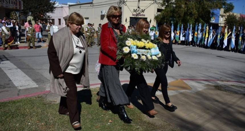 Juntos y en libertad se festejó el 106° Aniversario de nuestra ciudad