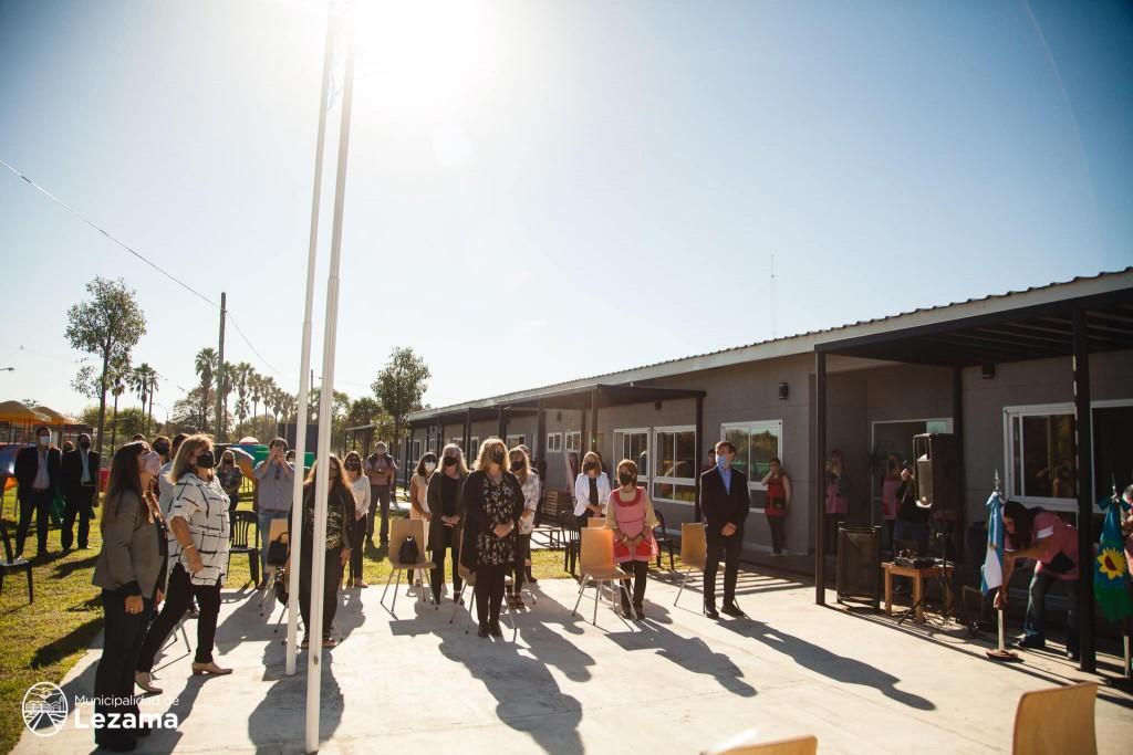 Lezama inauguró el nuevo edificio del Jardín Nº 901