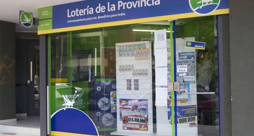 Autorizaron la reapertura de las agencias de la Lotería de la provincia de Buenos Aires