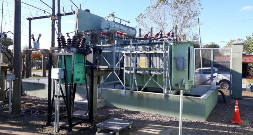 EDEA avanza en la repotenciación de la estación transformadora Lezama
