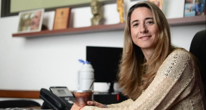 Flavia Delmonte visitó Lezama