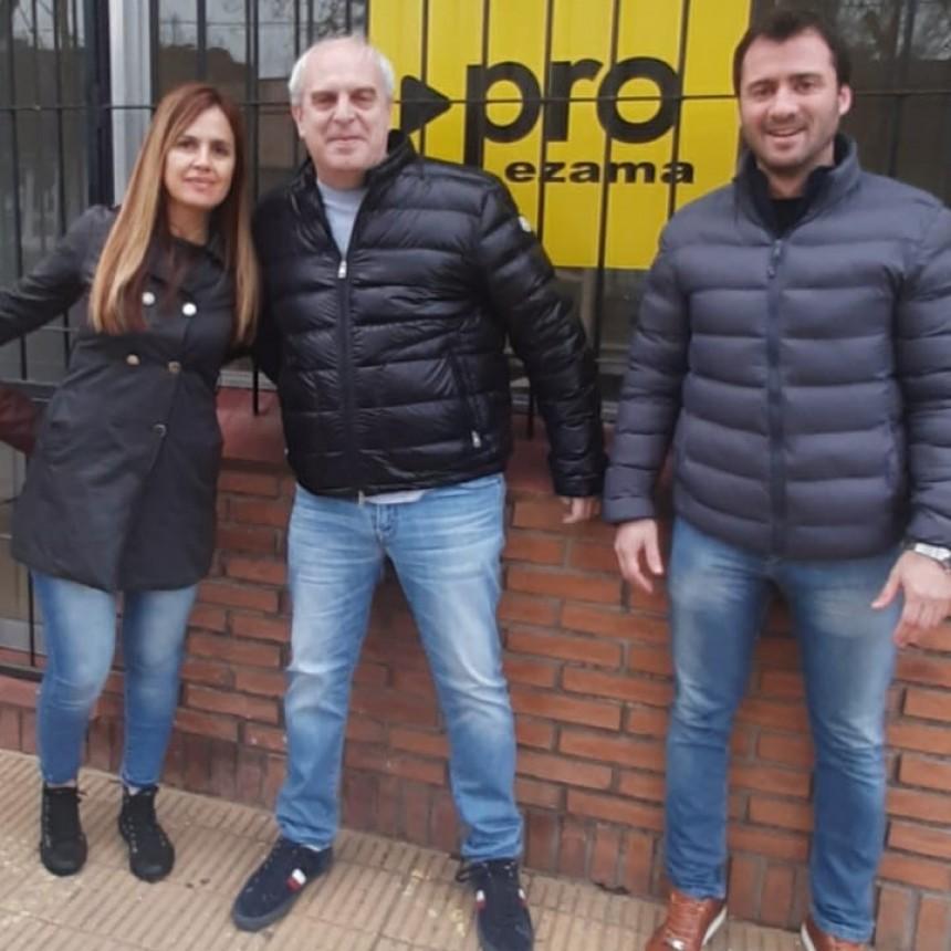 Alejandro Ravinovich visitó Lezama