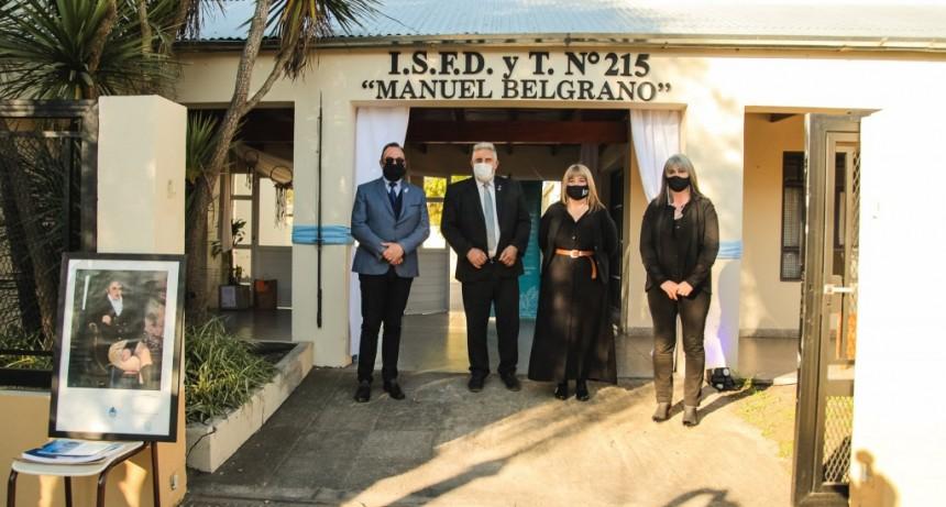 El Instituto Superior N° 215 estrenó nombre y edificio propio