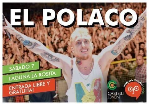 El Polaco se presentará el sábado en Castelli