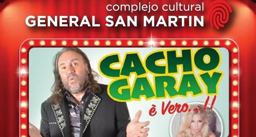 PAMI sorteará entre sus afiliados entradas para el espectáculo de Cacho Garay
