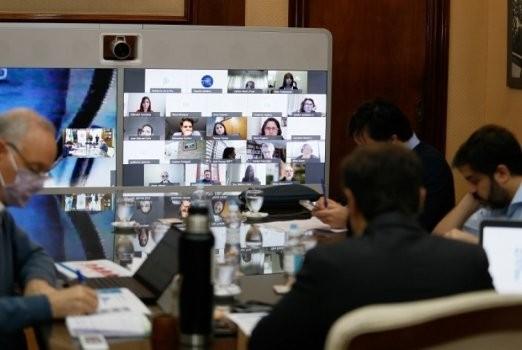 Reunión de Intendentes con el gobernador Kicillof