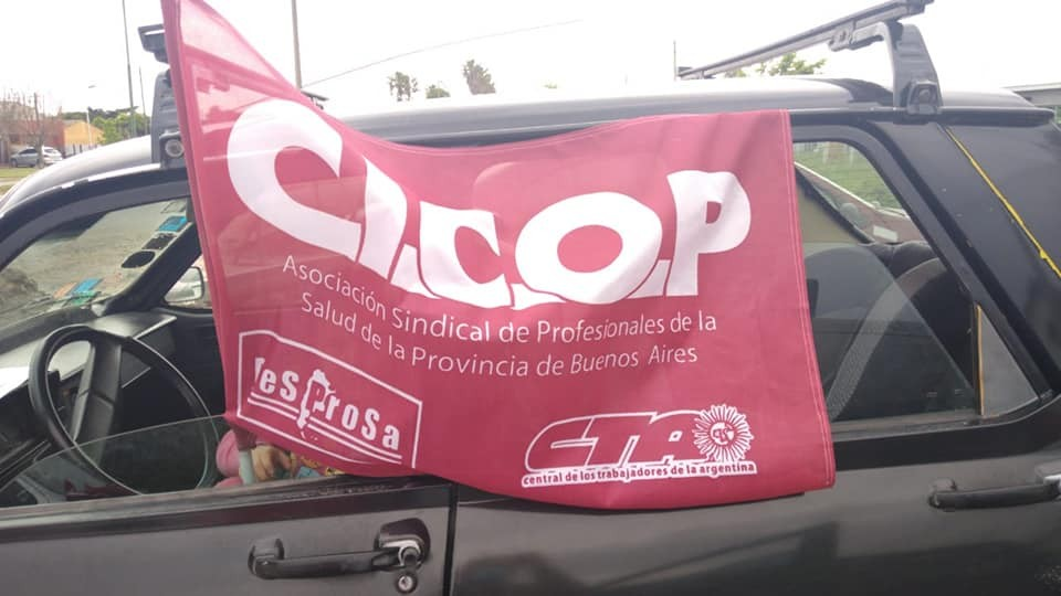 La CICOP se manifestó en las calles de Lezama
