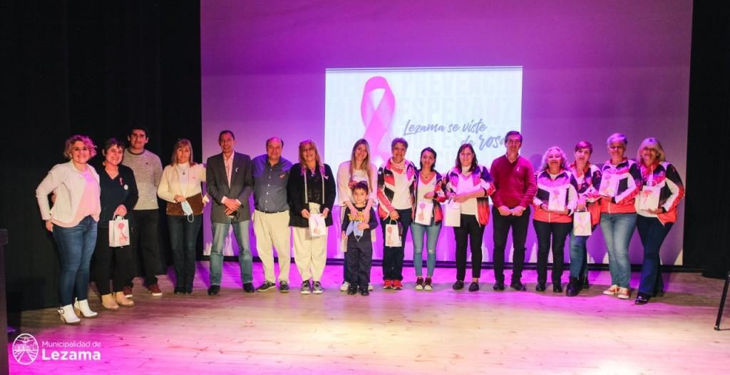 Lezama realizó la 4° Jornada de Concientización sobre el Cáncer de Mama