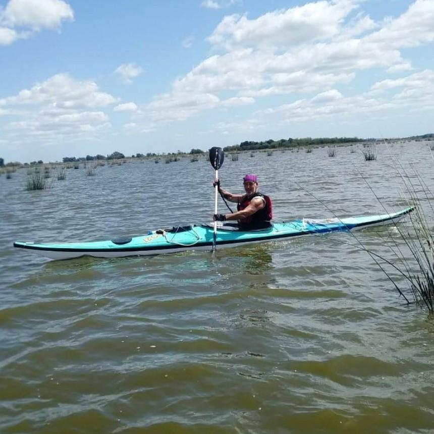 Travesía de kayak por nuestras lagunas