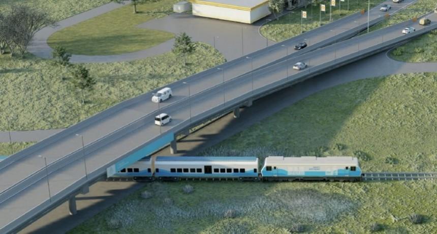 Trenes Argentinos instalará un puente sobre la Ruta 63 en Dolores