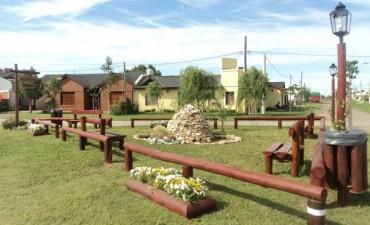 La cooperativa inauguró la  Plazoleta Su Santidad Francisco