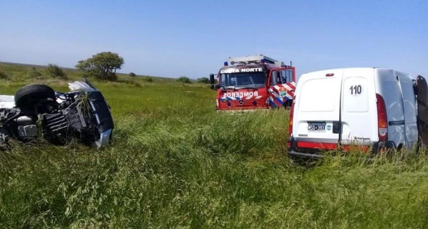 Dos muertos tras un choque frontal en la ruta 11