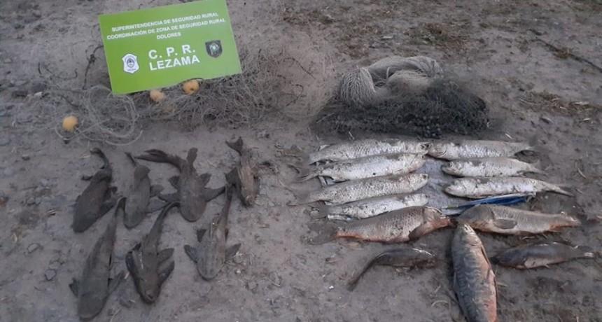 Infracción a pescadores en La Horqueta